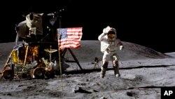 明年就是人類首次登月50週年。(資料圖片)