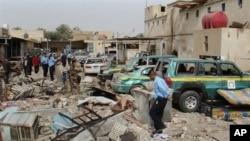 وقوع انفجارات چندگانه در بغداد