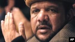 Ðệ nhất phó Tổng thống Afghanistan Mohammad Qasim Fahim.