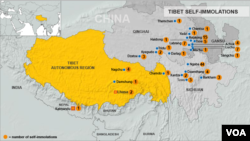 Tibet self-immolations, updated June 11, 2013