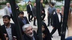 محمدخاتمی حصر خانگی موسوی و کروبی را محکوم کرد