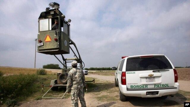 La mayoría de los 1.000 efectivos que resguardarán la frontera sur de EE.UU. ocuparán puestos de observación.