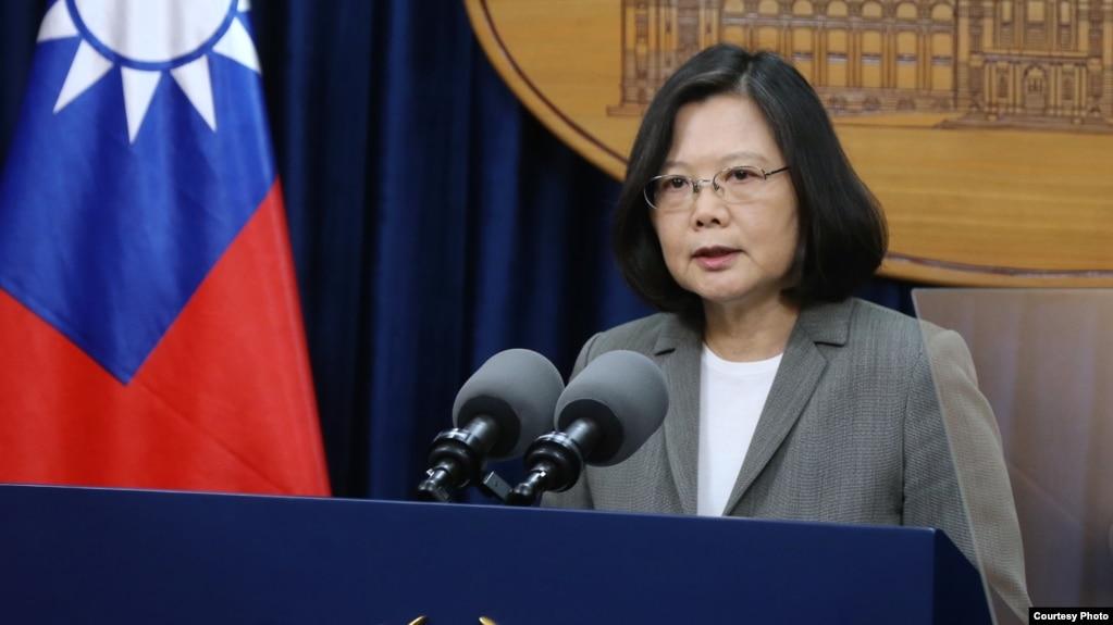 Tổng thống Đài Loan Thái Anh Văn.