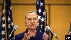 克林顿国务卿12月6日在瑞士发表人权讲话