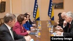 Sa današnjeg sastanka u Predsjedništvu BiH