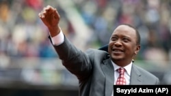 Kenyan President Uhuru Kenyatta is running for re-election next year. Last week he claimed that money coming into the country for the purposes of educating voters is being used to influence Kenyans' electoral decisions.