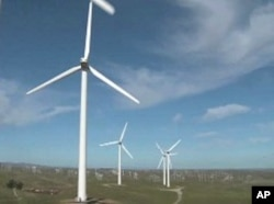 Wind only produces about two percent of America's electricity needs