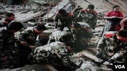 Gempa kuat di Tiongkok berpusat 240 kilometer di sebelah utara Qamdo, yang berbatasan dengan provinsi Sichuan, Tiongkok