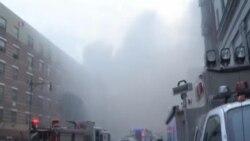 紐約樓房煤氣泄漏引起爆炸證實五人死亡