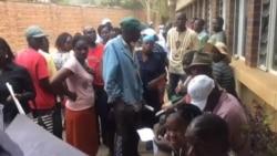 Zimbabweans Waiting to Register Under Biometric Voter Registration Program
