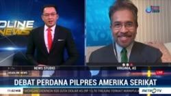 Laporan Langsung VOA untuk Headline News Metro TV: Debat Perdana Trump-Biden