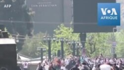 Violents affrontements au Chili