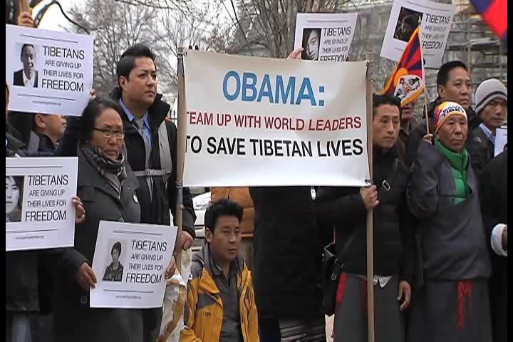 티베트 인권운동가들 국제적 관심 촉구