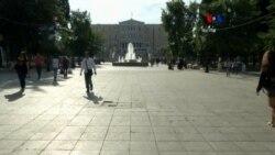 Ministro griego pide referéndum