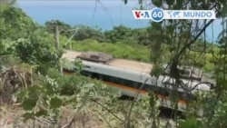 Manchetes mundo 2 Abril: Taiwan: Acidente de comboio mata 51 e fere mais de 100 pessoas