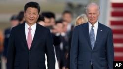 Ông Biden khi còn là Phó Tổng thống Mỹ đã gặp Chủ tịch TQ Tập Cận Bình (ảnh tháng 9/2015)