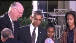 2012-11-22 美國之音視頻新聞: 美國人慶祝感恩節