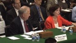 Jacobson rinde cuentas en el Senado