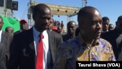 MDC leader Nelson Chamisa
