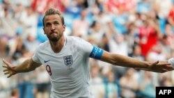 Tiền đạo của đội tuyển Anh Harry Kane.