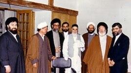 خامنه ای و سایر سران نظام ایران