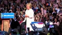 Clinton logró hito histórico para la mujer estadounidense