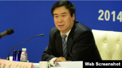 中国中化集团原总经理蔡希有资料照片 (推特截图)