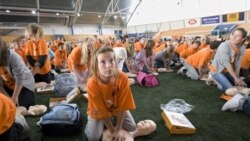 Seventh-graders in Norway, where an IQ study took place, set a Guinness world record in 2008 for simultaneously performed resuscitation attempts