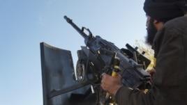 Pripadnik sirijskih pobunjeničkih snaga