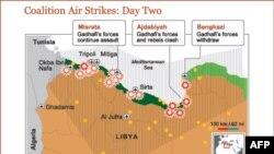 Դաշնակիցներն ընդլայնում են թռիչքազերծ գոտին Լիբիայի տարածքի վրա