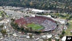 El estadio Rose Bowl en Pasadena, California, se alista para el Mundial 2026 y las Olimpíadas de Verano 2028.