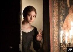 "Mia Wasikowska as Jane Eyre in ""Jane Eyre"""