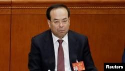 Cựu Bí thư Thành ủy Trùng Khánh Tôn Chính Tài bị truy tố vì hành vi nhận hối lộ.
