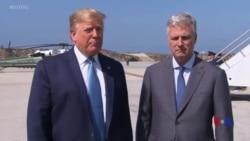 """特朗普:在回應伊朗方面美國有""""很多選項"""""""