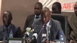 Boubé Ibrahim, président de la Ceni, annonce les résultats de l'élection présidentielle au Niger