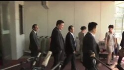 2013-06-18 美國之音視頻新聞: 北韓核談判首席代表抵達北京