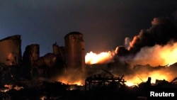 Explosion Destroys Texas Fertilizer Plant