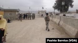 پاکستان افغان سرحد اسپین بولدک، : فائل فوٹو