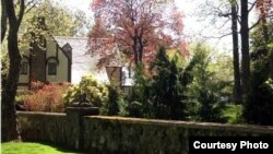 """The house described as an enchanting English Tudor on sprawling grounds and featured in """"The Godfather"""" is for sale, Staten Island, New York. (Connie Profaci Realty)"""