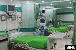بخش مراقبتهای ویژه بیمارستان