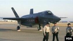 Pesawat jet siluman paling canggih AS, F-35 Lightning II.