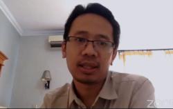 Richo Andi Wibowo, dosen Fakultas Hukum UGM. (Foto: VOA/Nurhadi)