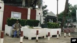 Đại sứ quán Hoa Kỳ ở Phnom Penh, Campuchia.