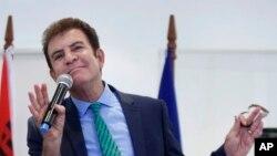 Salvador Nasralla, candidato presidencial de la oposición en Honduras.