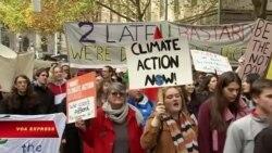 Học sinh khắp thế giới biểu tình chống biến đổi khí hậu