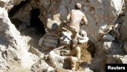Những thợ mỏ thủ công Congo thường không có đủ trang thiết bị (ảnh tư liệu, tháng 6/2016)