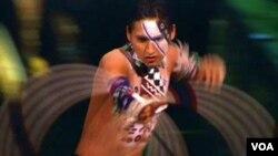 A performer in Cirque de Soleil's 'Totem'