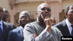 Le président burkinabè Roch Marc Christian Kabore , 18 janvier 2016.