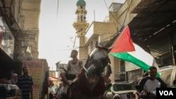 巴勒斯坦難民尋求返回家園。