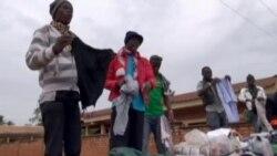 Ambiance dans un marché populaire de Bangui
